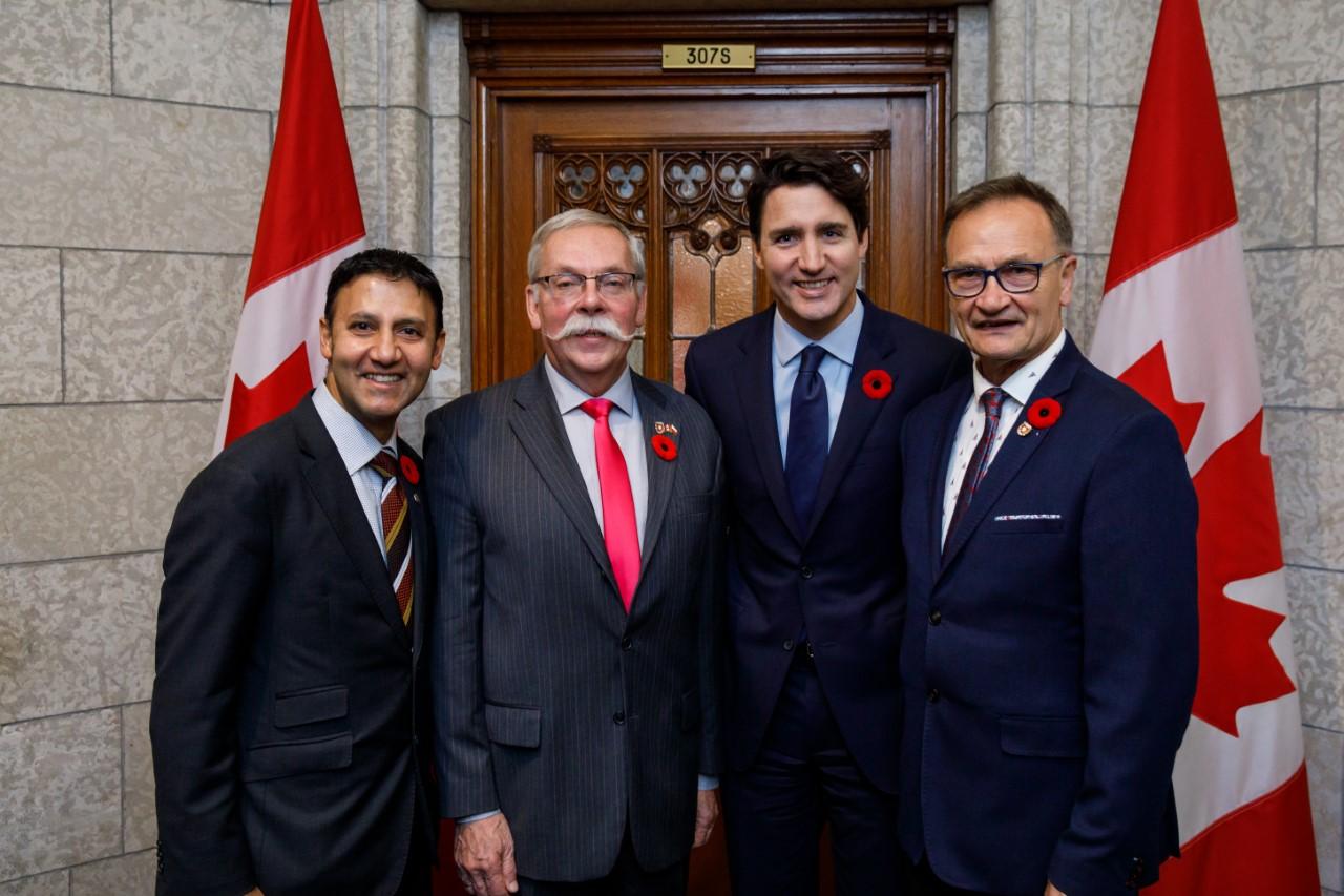 Wizyta delegacji ZG KPK w Ottawie