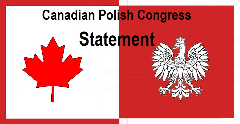 Statement from the Canadian Polish Congress