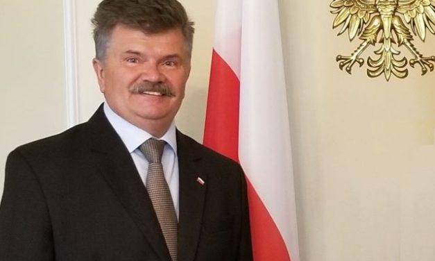 List Ambasadora RP w Kanadzie Dr. Andrzeja Kurnickiego dotyczący 80. rocznicy Mordu Katyńskiego i 10. Tragedii Smoleńskiej.