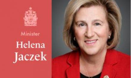 Polish-Canadian MP Helena Jaczek appointed to Cabinet