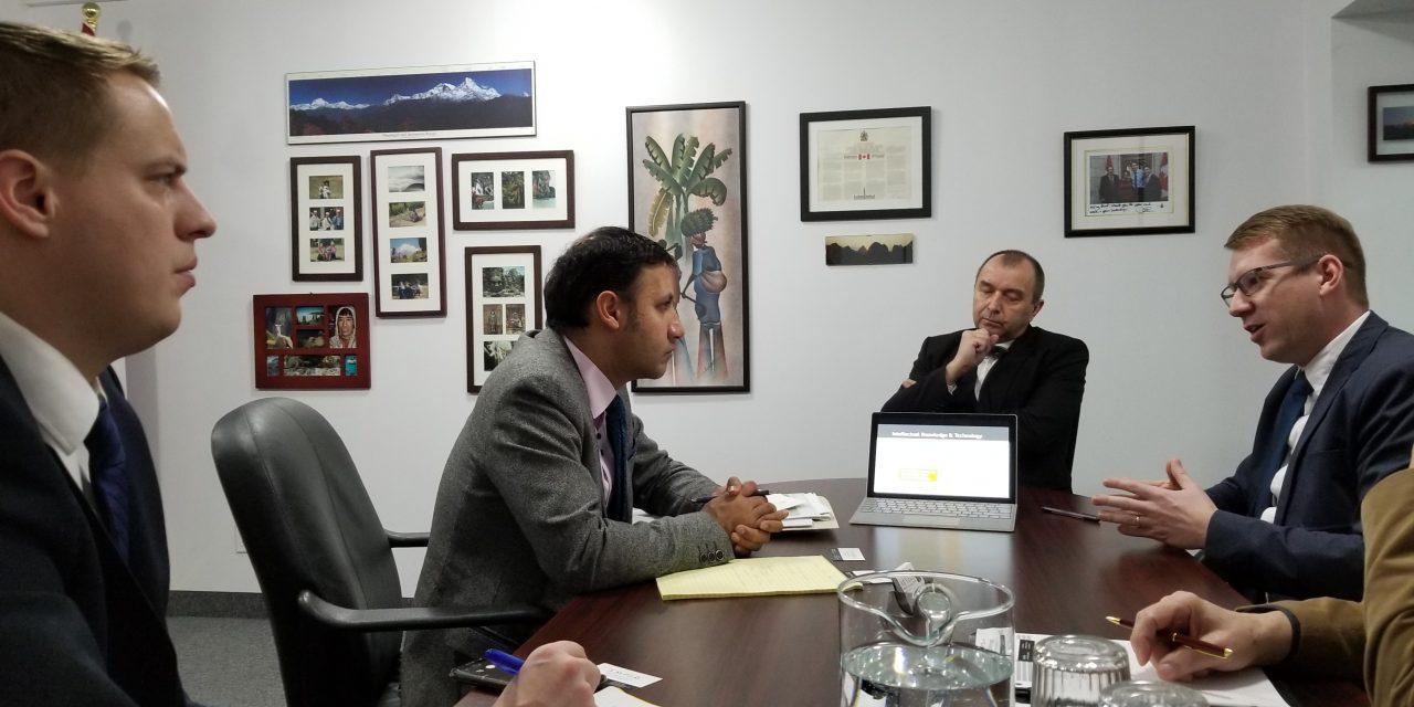 Greeting of Member of Parliament Arif Virani
