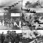 On September 1, 1939, World War II began when Nazi Germany invaded Poland.