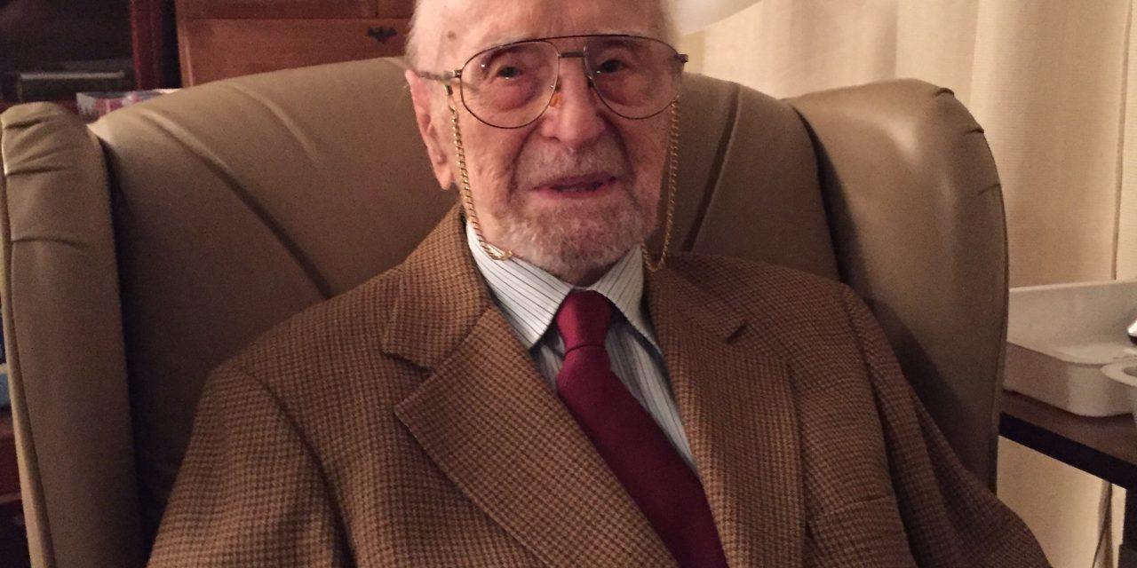 Dzisiaj, nasz rodak mieszkający w St. John's,Nowofundland, porucznik Jan Wawrzków obchodzi 104. rocznicę urodzin!
